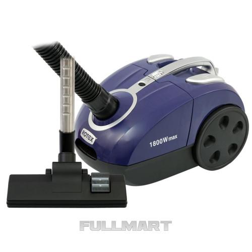 Пылесос для сухой уборки Rotex RVB18-E Blue