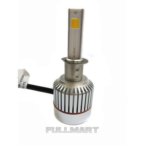 Led лампы для авто светодиодные UKC Car Led Headlight H7 33W 3000LM 4500-5000K (005465)
