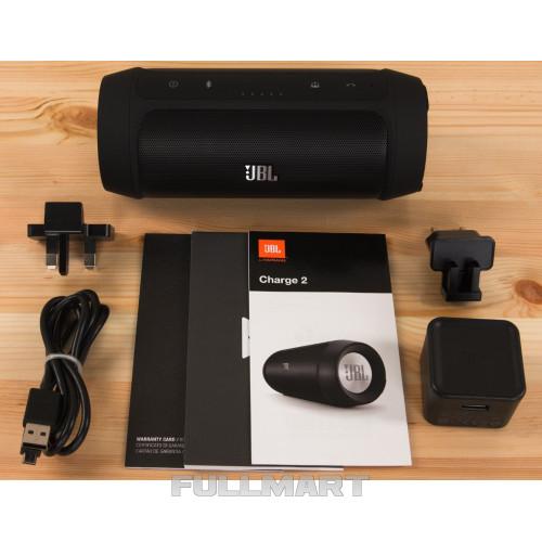 Портативная акустика JBL Charge 2+ Black