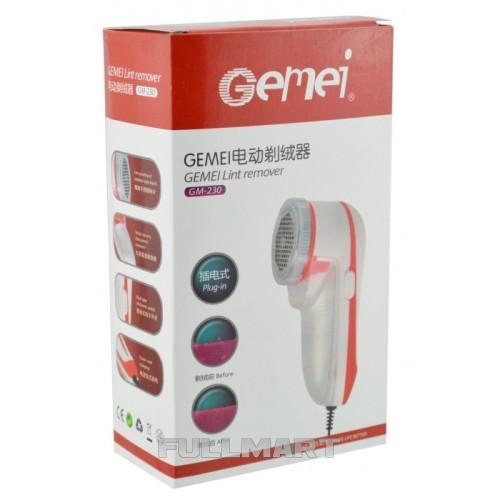 Машинка для стрижки катышков Gemei GM-230 от сети 220v