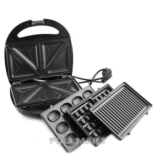 Сендвичница DOMOTEC MS-7704 4в1 бутербродница (MS-7704 4в1)