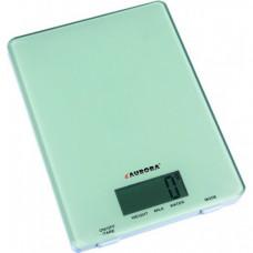 Весы кухонные AURORA AU-4300 5 кг Серые из стекла (hub_ZFlT36058)