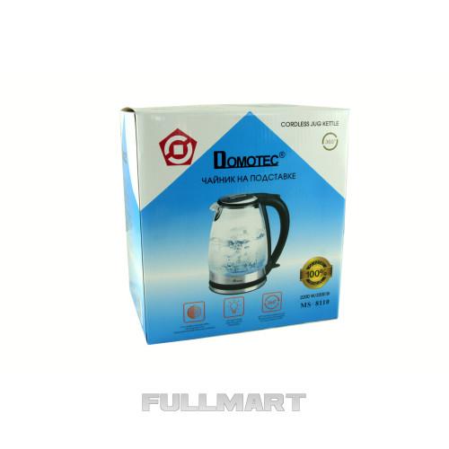 Электрочайник Domotec MS-8210 Черный (gr006903)