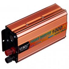 Инвертор-преобразователь UKC POWER с 12 на 220 вольт 1000W (14003)