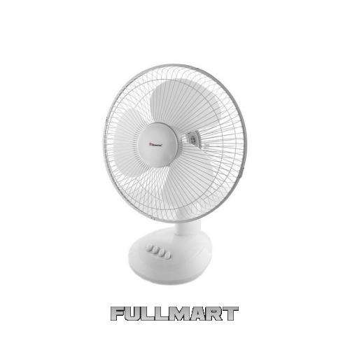 Настольный вентилятор Domotec MS-1625 Белый