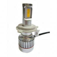 Лампа для авто светодиодная UKC Car Led Headlight H4 33W 3000LM 4500-5000K (005464)
