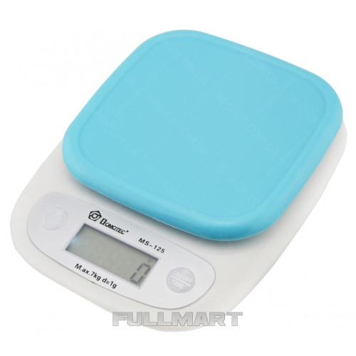 Весы кухонные Domotec MS-125 Blue
