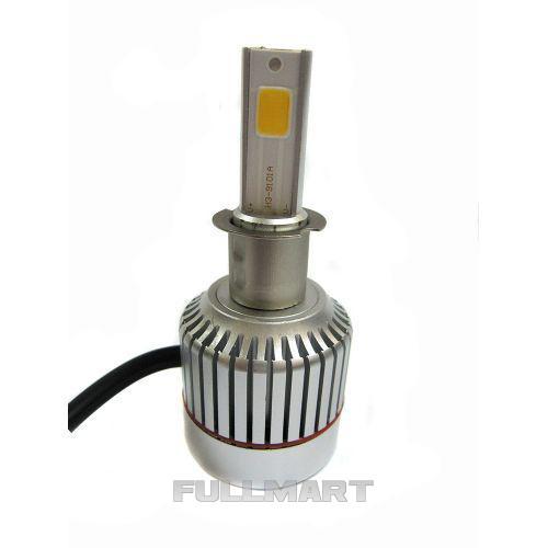Led лампы для авто светодиодные UKC Car Led Headlight H3 33W 3000LM 4500-5000K (005463)