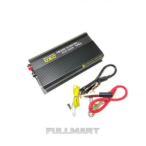 Автомобильный преобразователь инвертор UKC 12V-220V RCP 1500W
