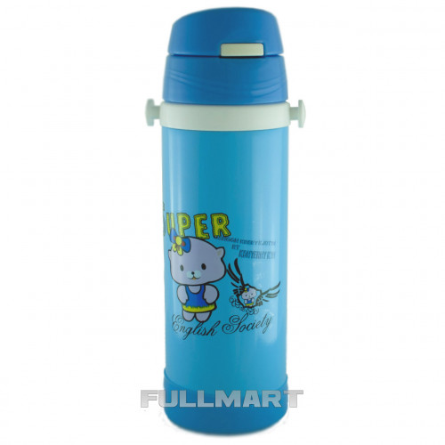 Термос детский UNIQUE UN-1062 0.35 л Синий