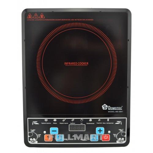 Инфракрасная плита Domotec MS-5841 2000W Черный