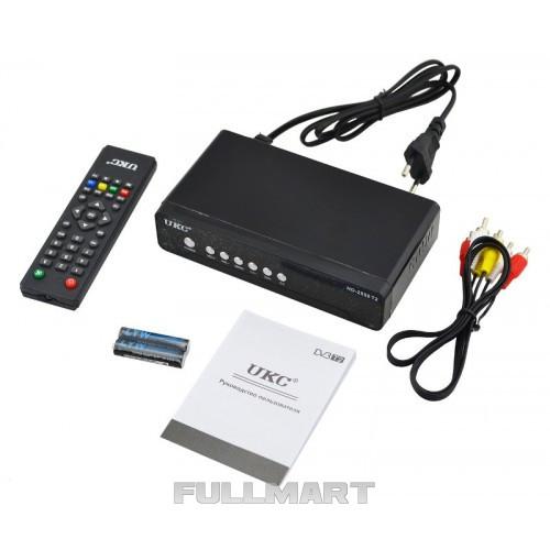 Тюнер цифровой UKC DVB-T2 2558 METAL (gr_008093)
