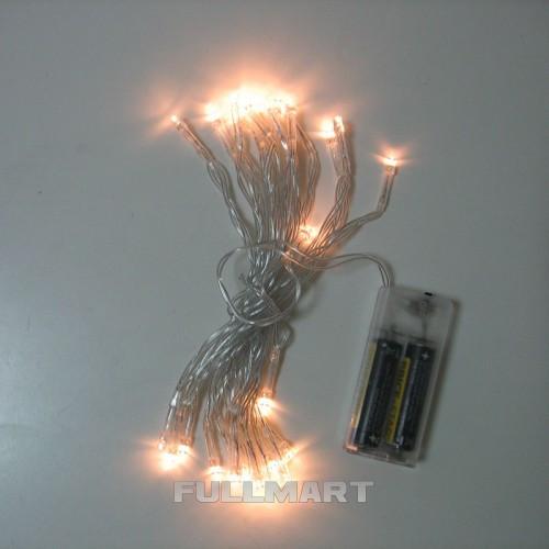 Гирлянда Xmas WW на батарейках 30 светодиодов Оранжевая (gr_008210)