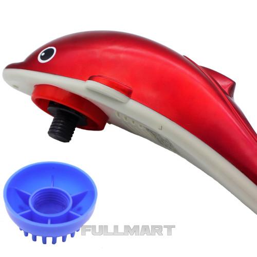 Массажер Dolphin Красный (1506)