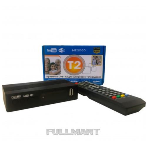 Цифровой тюнер Kronos DVB-T2 MEGOGO с LCD (gr_007710)