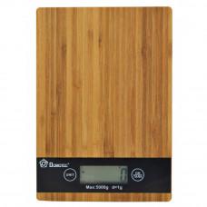 Весы кухонные Domotec MS-A Wood (mx-25)