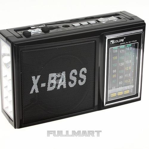Радиоприемник GOLON RX-177 Black (1em_000864)