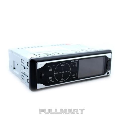 Автомагнитола MP3 3881 Черно-белая (sp3362)