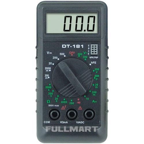 Мультиметр DT-181 Черный (hub_yWhX28955)