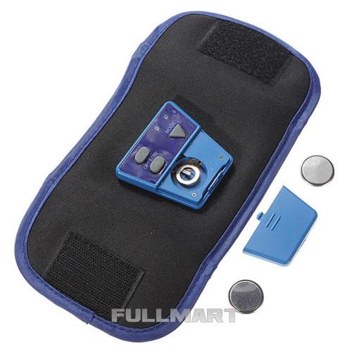 Массажер миостимулятор пояс для похудения AbGymnic Blue