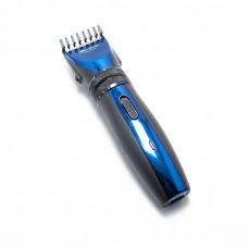 Аккумуляторная машинка для стрижки волос Gemei GM-6103 Черный с синим