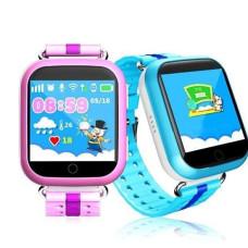 Детские смарт-часы Smart Baby Watch Q100 с GPS трекером