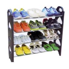 Полка для обуви Stackable Shoe Rack стойка органайзер для обуви