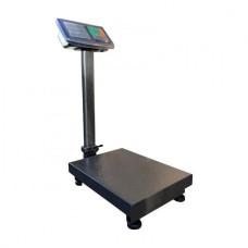 Весы товарные електронные WIMPEX ДО 120 КГ. с усиленой платформой 30*40 см, торговые со стойкой