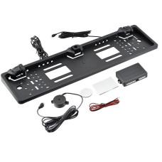 Рамка для номера с камерой CAR CAM + Parking Sensor