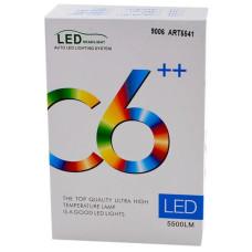 Комплект LED ламп C6 HB3/9006 32W, противотуманки