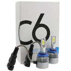 Комплект LED ламп C6 HeadLight H11 12v