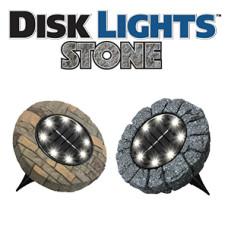 Набор уличных светильников DISK LIGHT STONE (4шт)