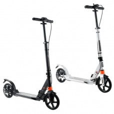 Детский складной самокат с двумя большими колёсами 001PX городской scooter для подростка, дисковый тормоз