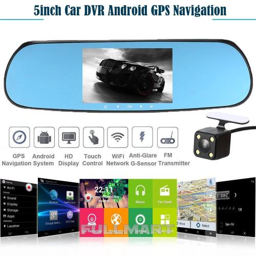 Зеркало заднего вида с видеорегистратором DVR CT600 Android