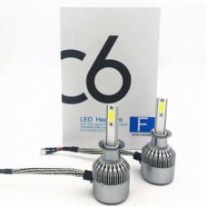 Комплект LED ламп C6 HeadLight H1 12v