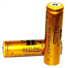 Батарейка GOLD BATTERY 18650 золотой