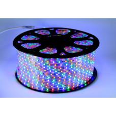 Светодиодная лента LED 5050 M RGB Мультицветная 100m 220V