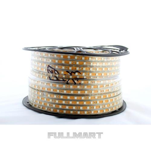 Светодиодная лента LED 5050 WW Теплый белый 100m 220V