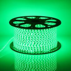 Светодиодная лента LED 5050 Green 100m 220V