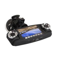 Автомобильный видеорегистратор Double 3 в 1 2 камеры + GPS | авторегистратор | регистратор авто