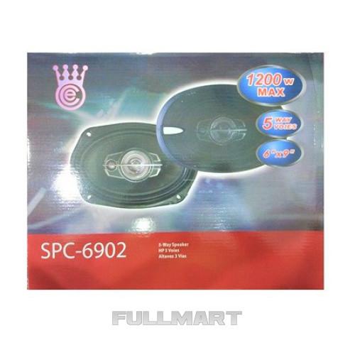 Автоакустика SP-6902 (6'' *9'', 5-ти полос, 1200W)| автомобильная акустика | динамики | автомобильные колонки