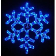 Гирлянда LED снежинка 40 см