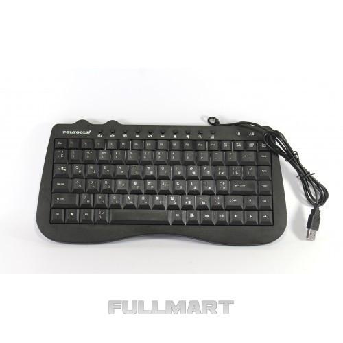 USB проводная компьютерная клавиатура KEYBOARD PG-945   черная клавиатура для ПК