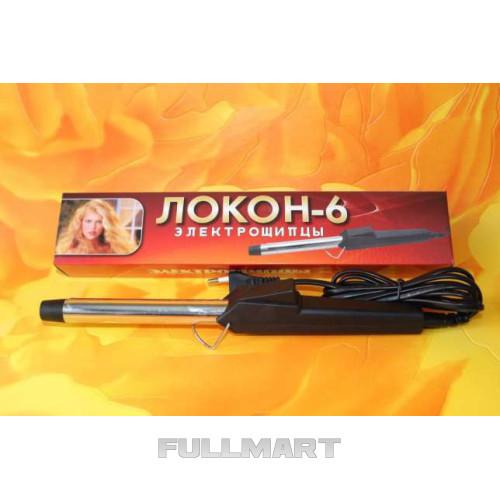 Плойка для волос 100689 Локон 6   Плойка щипцы для завивки волос   электрощипцы