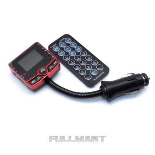 FM модулятор автомобильный 520 USB SD micro SD от прикуривателя | трансмиттер