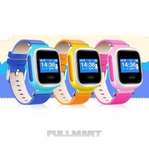Умные детские смарт часы с GPS Smart Baby Watch Q80 ЖЕЛТЫЕДЕТСКИЕ ЧАСЫ C GPS - SMART BABY WATCH