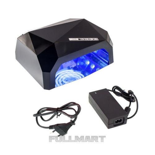 Гибридная  лампа 36W Quick CCFL + LED Nail Lamp