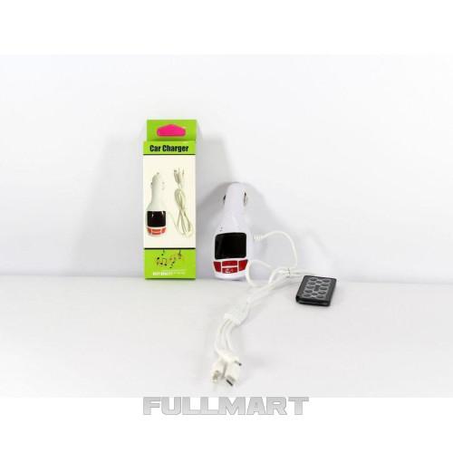 Трансмитер FM-модулятор  FM MOD. CM 7010, с зарядкой  для телефона от прикуривателя и от сети
