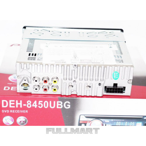 Автомагнитола 1DIN DVD-8450 | Автомобильная магнитола | RGB панель + пульт управления