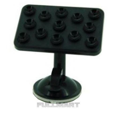 Крепление для телефона HOLDER XP8 BOX | пластиковый держатель телефона на 8 присосках | подставка под телефон